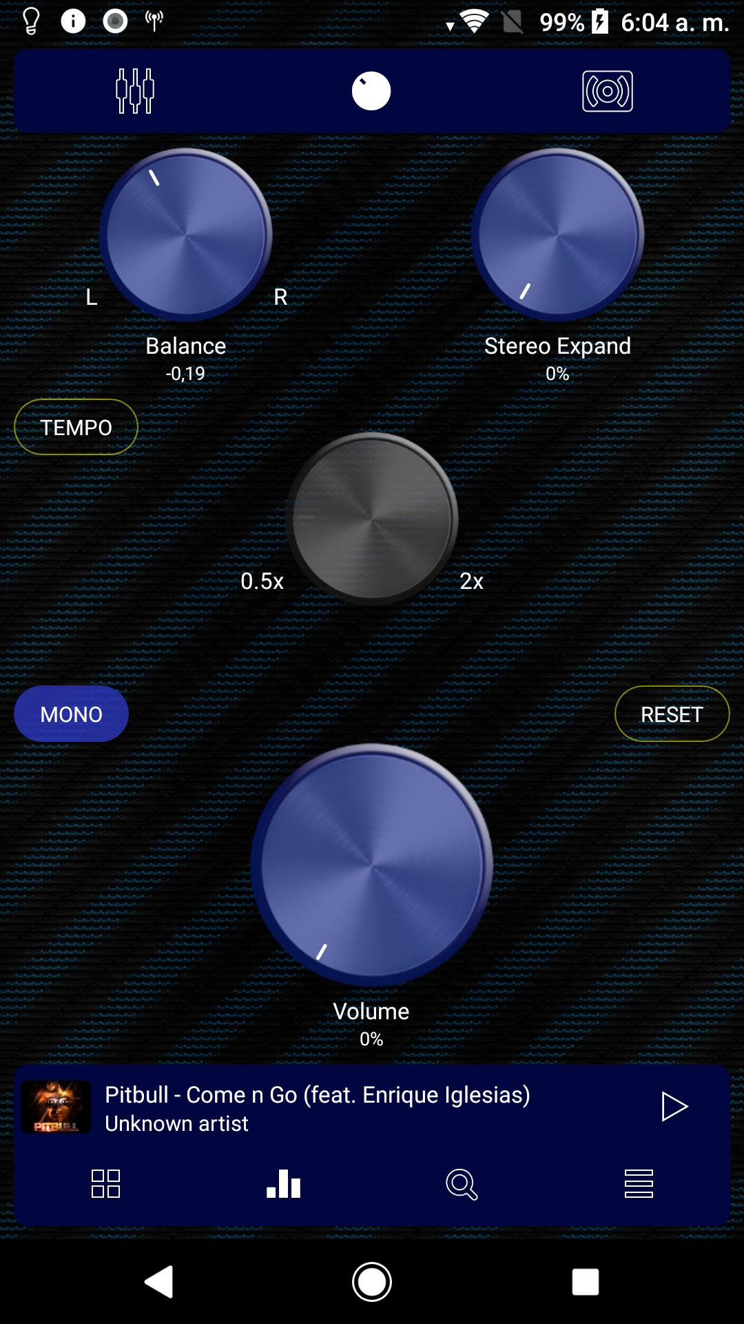 Poweramp v3 skin blue carbon for Android - APK Download