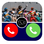 Fake Call Power's Rangers Prank Dino Pro 아이콘