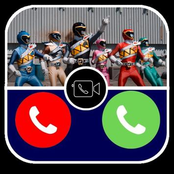 Fake Call Power's Rangers Prank Dino Pro 스크린샷 7