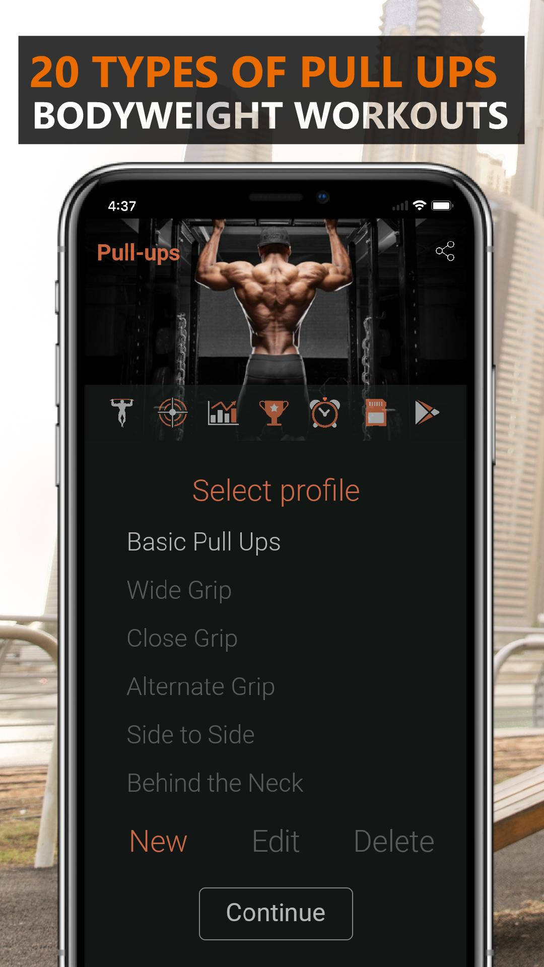 100 Pull Ups - Calisthenics Bodyweight Workouts for Android - APK