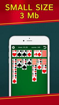 Classic Solitaire Klondike - No Ads! Totally Free! screenshot 1