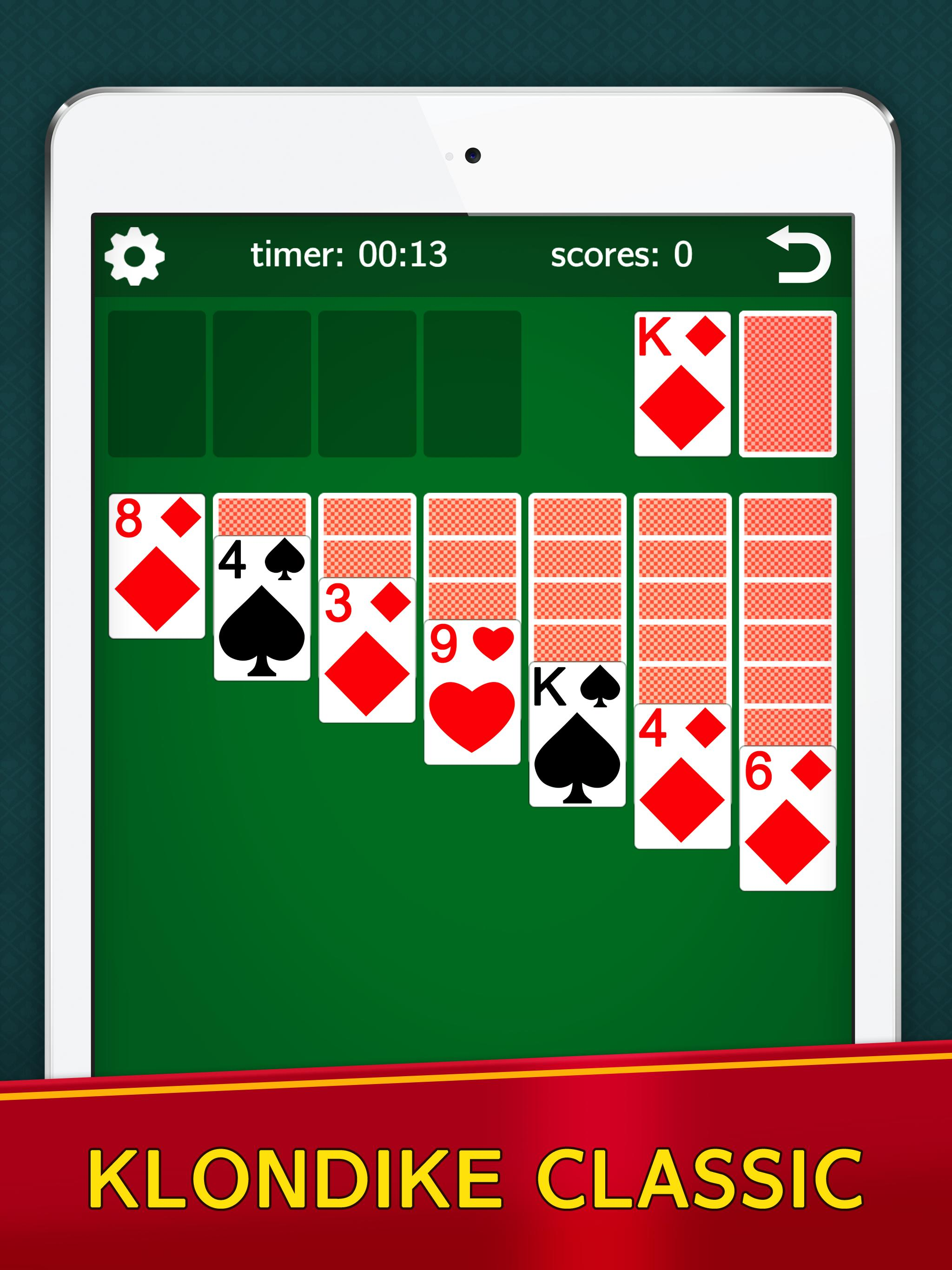 Classic Solitaire Klondike No Ads Totally Free For Android Apk Download