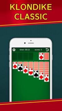 Classic Solitaire Klondike - No Ads! Totally Free! screenshot 8