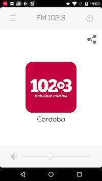 Radio FM 102.3 Córdoba poster
