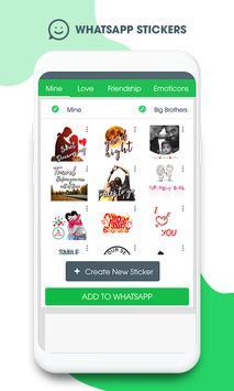 Sticker Maker For Whatsapp poster