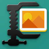 Compress Image , Resize and Crop icon