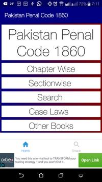 PPC - Pakistan Penal Code and its Case Laws poster