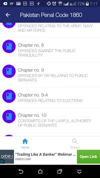 PPC - Pakistan Penal Code and its Case Laws screenshot 3