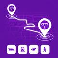 Find Distance Between Cities