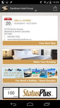 Sandman Hotel Group screenshot 3