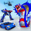 ikon US Police Cobra Transform Robot Games