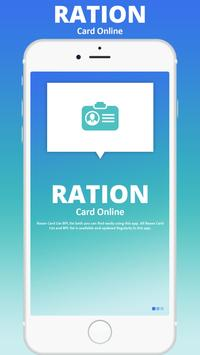 All State Ration Card 2019 poster