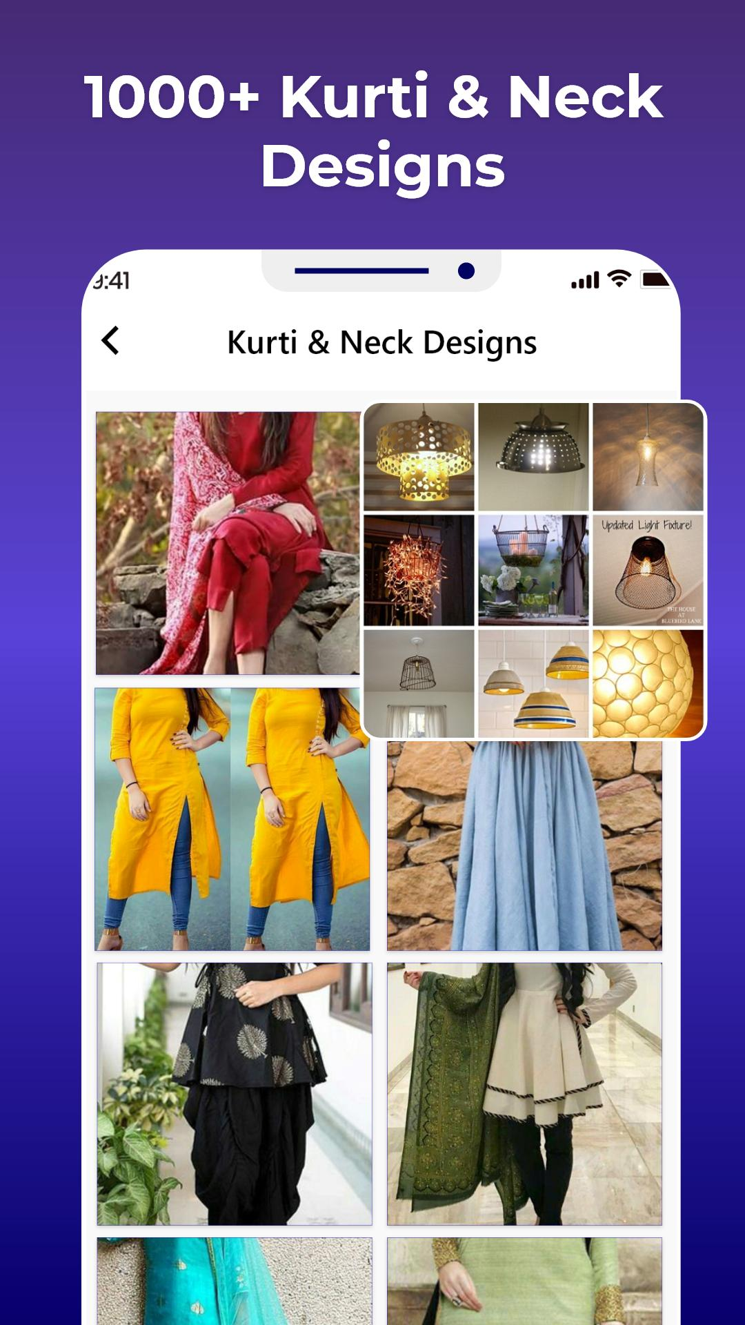 Stylish Neck Designs Kurti Collar Girls Ideas New For Android Apk Download