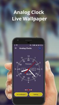 Analog Clock Live Wallpaper & Widget screenshot 3
