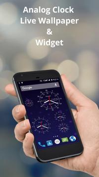 Analog Clock Live Wallpaper & Widget poster