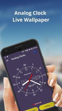 Analog Clock Live Wallpaper & Widget screenshot 1