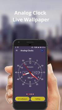 Analog Clock Live Wallpaper & Widget screenshot 2