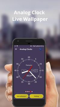 Analog Clock Live Wallpaper & Widget screenshot 4