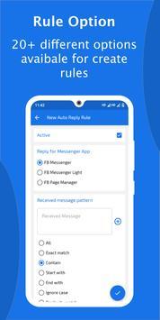 Auto Reply for FB Messenger - AutoRespond Bot imagem de tela 1