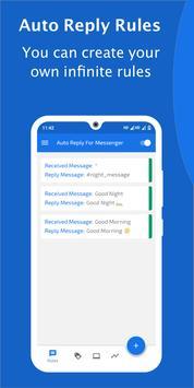 Auto Reply for FB Messenger - AutoRespond Bot imagem de tela 8