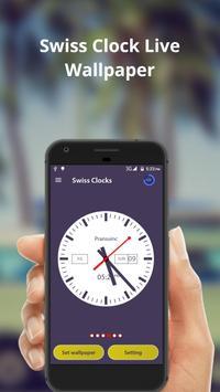 Swiss Clock Live wallpaper & widgets screenshot 3