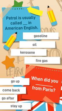English Grammar Practice Test Quiz screenshot 2
