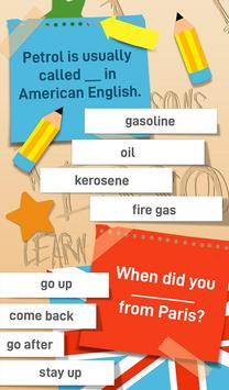 English Grammar Practice Test Quiz screenshot 7