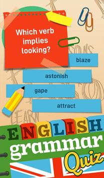 English Grammar Practice Test Quiz screenshot 6