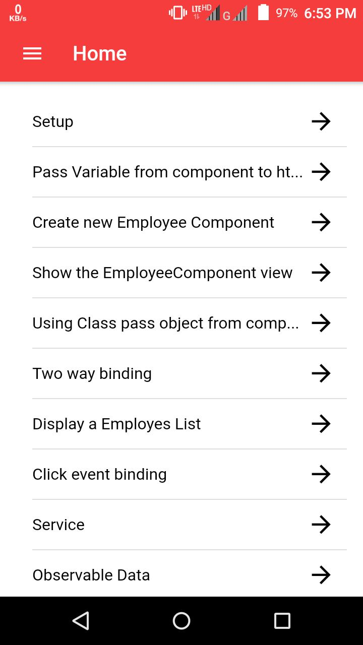Angular 6 Tutorial for Android - APK Download