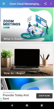 Free Zoom Video Call - Live Chat Guide poster