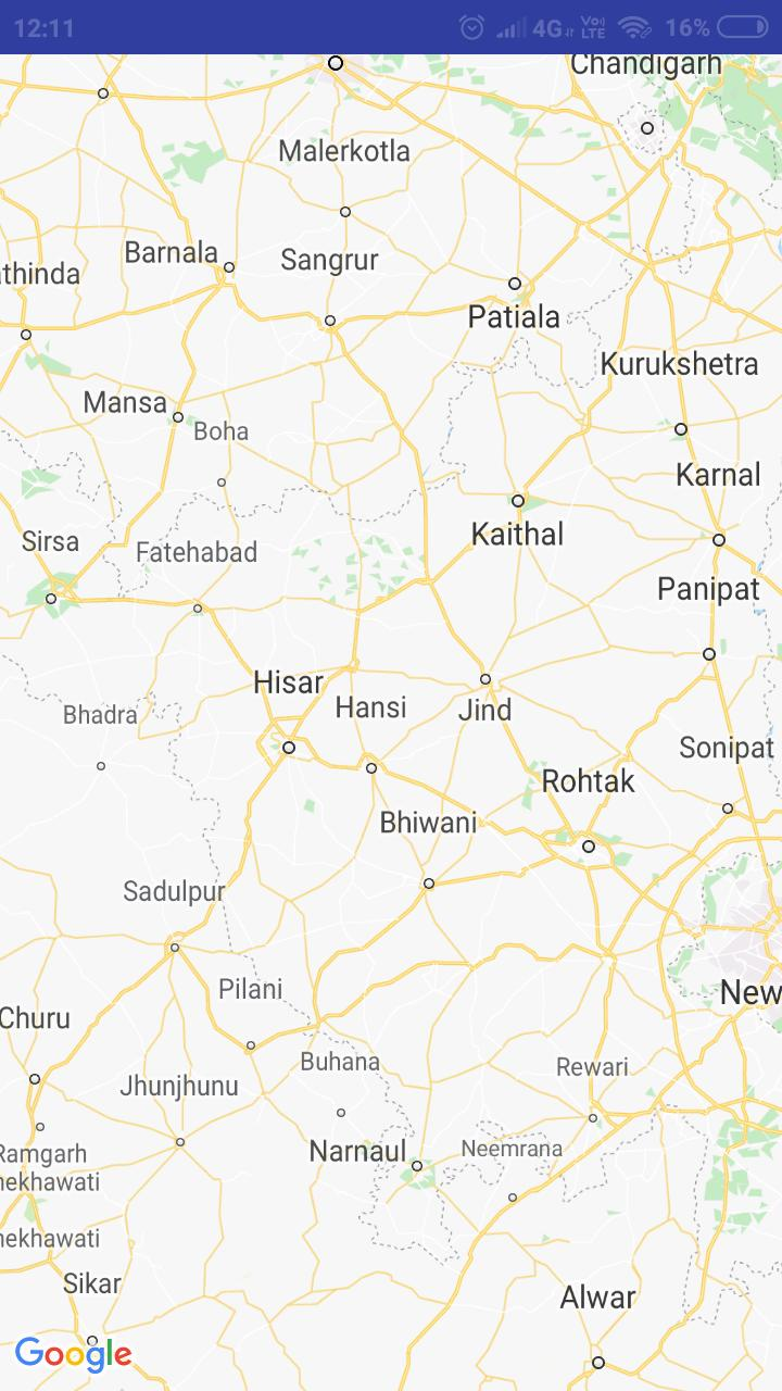 Haryana Map for Android - APK Download
