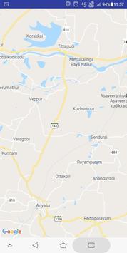 Tamil Nadu Map screenshot 1
