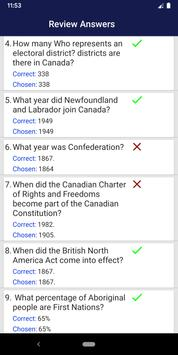Canadian Citizenship Test 2020 screenshot 5
