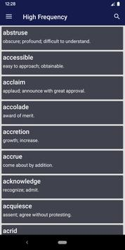 Vocabulary for SAT-poster