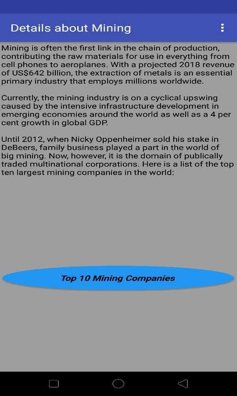 Top 10 Mining Companies in the World for Android - APK Download
