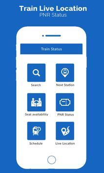 Train Live Location , PNR Status poster