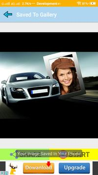 Car Photo Frames Collage Maker To Look Rich screenshot 2