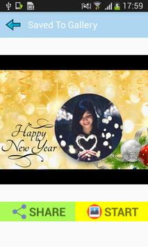 Happy New Year Wishes Greetings Maker Photo Frames screenshot 2