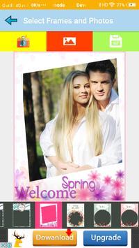 Spring Photo Frames Make Spring Wallpaper screenshot 4