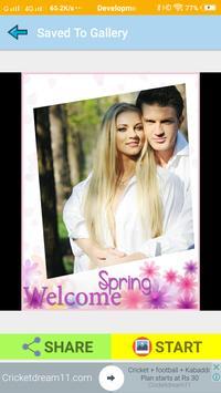 Spring Photo Frames Make Spring Wallpaper screenshot 5