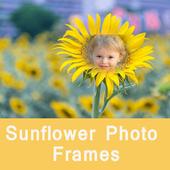 Sunflower Wallpaper Photo Frames icon