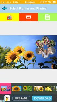 Sunflower Wallpaper Photo Frames screenshot 1