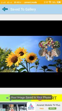 Sunflower Wallpaper Photo Frames screenshot 5