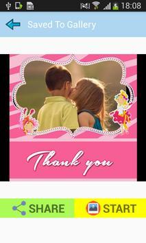 Thank You Photo Frames Make Thanks Card screenshot 8