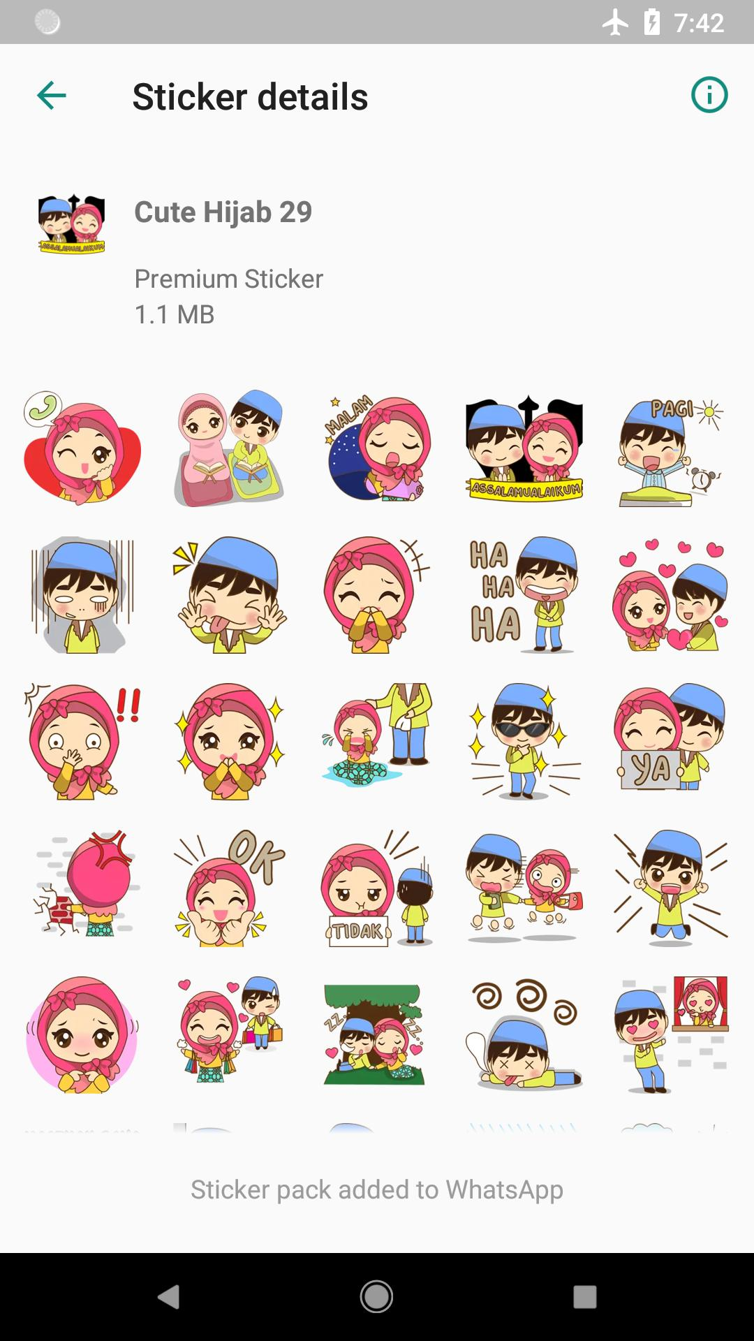 Best Sticker Cute Hijab Islamic Wastickerapps For Android Apk