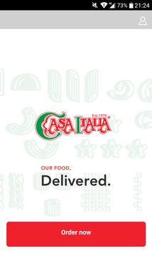 Casa Italia Delivery poster