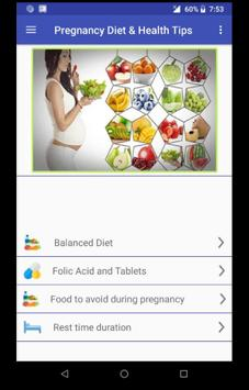 Fingerprint Pregnancy Diet poster