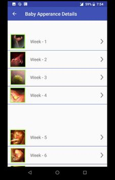 Fingerprint Pregnancy Diet screenshot 2