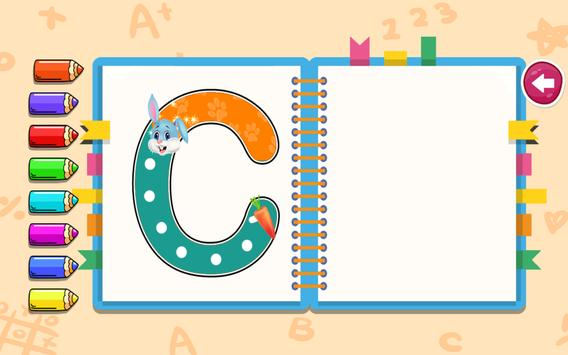 Kids Preschool Learning - Learn ABC, Number & Day screenshot 11