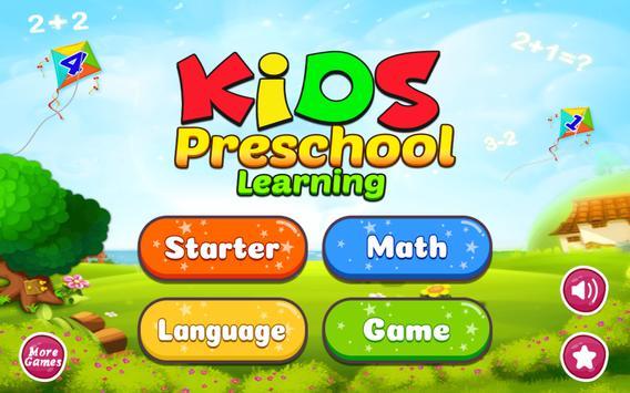 Kids Preschool Learning - Learn ABC, Number & Day screenshot 8